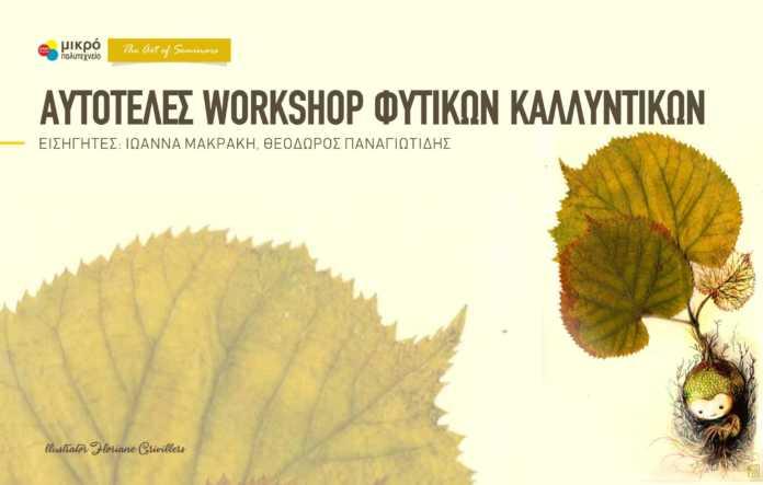 Workshop Φυτικών Καλλυντικών